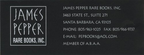 Welcome to James Pepper Books